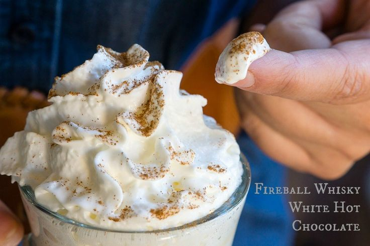 Fireball whisky white hot chocolate recipe whisky for Hot alcoholic beverages