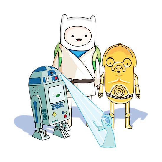 Adventure Time x Star Wars