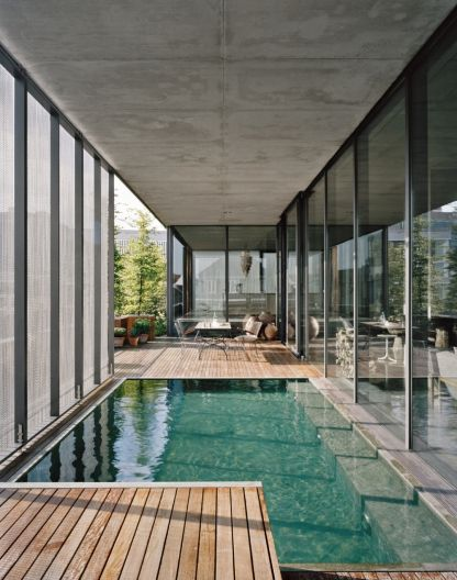 Best 25 Indoor Outdoor Pools Ideas On Pinterest Outdoor Pool Modern Pools And Outdoor Living