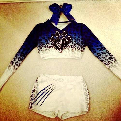 cheetah cheer uniforms - Can cascade please get some cheetah on our uniforms!?!
