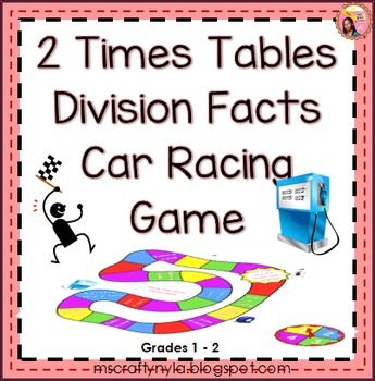 1000 images about teaching printables games and lessons on pinterest classroom labels 3d - Times table racing car game ...