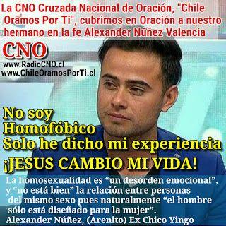 David Yañez Osses: Alexander Núñez Arenito, Jesus câmbio mi vida