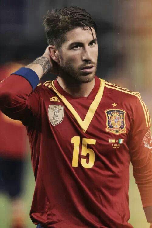 Sergio Ramos #Spain