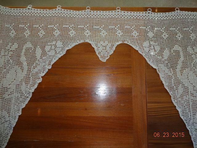 Crocheted Curtain #4
