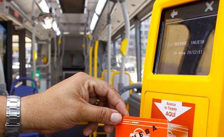 Pasaje del bus urbano se pagará con 'monedero electrónico'