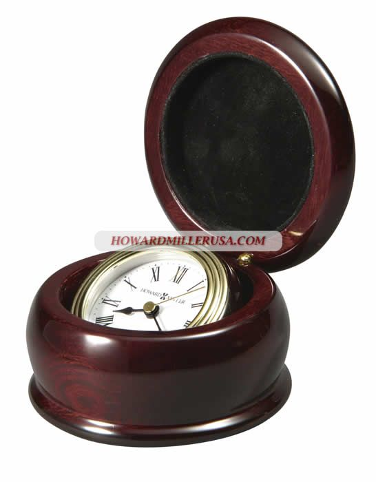 Gimbaled Tabletop Clocks Rosewood Hall 645680 WESTPORT Desktop Clock This  Gimbaled Clock Tilts For Easy Viewing