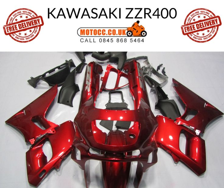 KAWASAKI ZZR400 1993-1997 FAIRING KIT  Made via the Injection Mould process.  This means it provides as close fit as the OEM panels.  This kit is made up of 25 pieces  Made in ABS plastic  Comes with free Screen.  http://www.motocc.co.uk/acatalog/KAWASAKI-ZZR-400-93-97-RED-FAIRING-KIT.html#SID=171   #motocc #motoccuk #motorcyclefairings #motorcyclebodywork #hondafairings #UnitedKingdom #UK