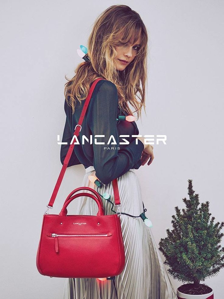 Behati Prinsloo in Lancaster Paris Christmas 2015 campaign Photoshoot