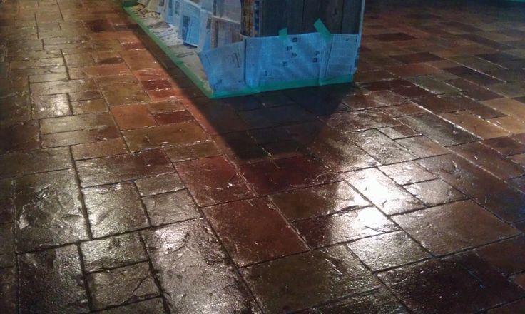 Image Result For Dyed Concrete Floors