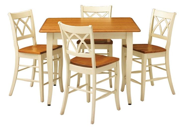 Provence Solid-Top Pub Table by Keystone. Even your party space can be elegant with this French Country style pub set.