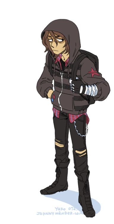 High school punk Bucky