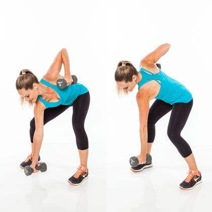 Core Exercises with Weights: Straight-Arm Climb - 6 Moves for a Rock-Solid Stomach - Shape Magazine - Page 6