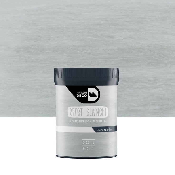 Gel blanchi, blanchi, MAISON DECO, Relook meuble, blanc 0,25 l