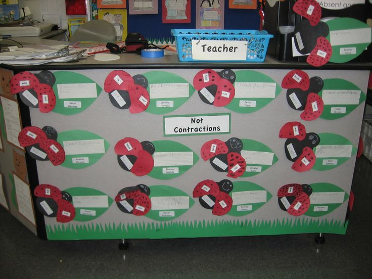 bug themed word wall | Always First Grade: Bulletin Board Ideas Linky Party- Showcase your ...