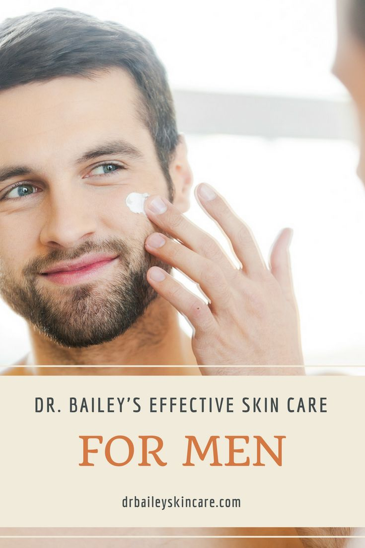 Skin care is just as important for men as well as women. And Dr. Bailey has just the thing! She has the male skin care line tailor made for the grab-and-go style for men.