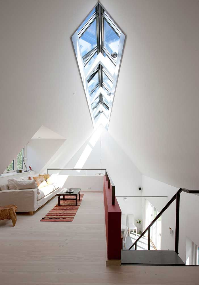 loft with skylight