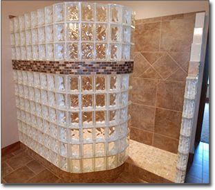 Wall Tile Designs best 25+ glass block shower ideas on pinterest | bathroom shower