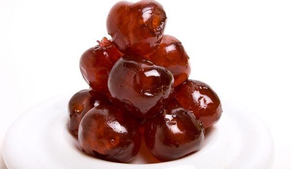 Рецепта за Захаросани вишни