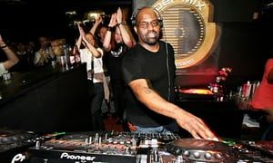 Frankie Knuckles playing in central London in 2007