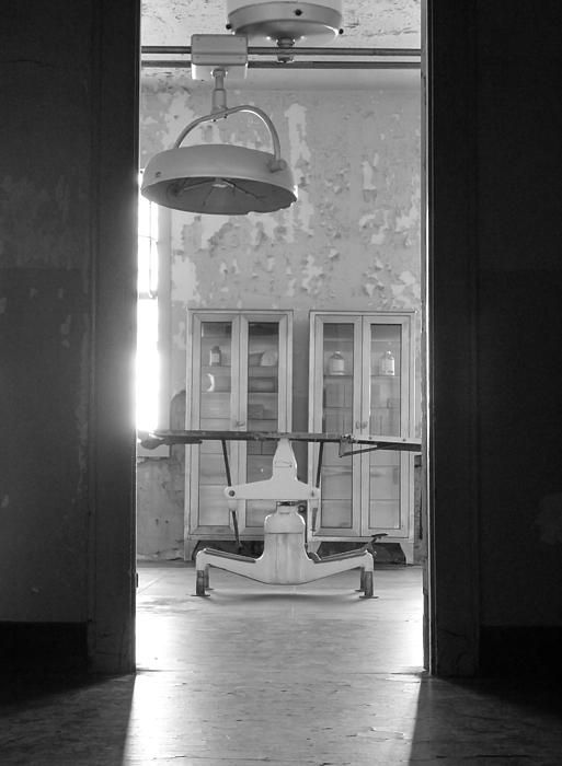 The hospital ward inside Alcatraz prison. Want this picture printed on canvas or cards etc? Click on the image :)