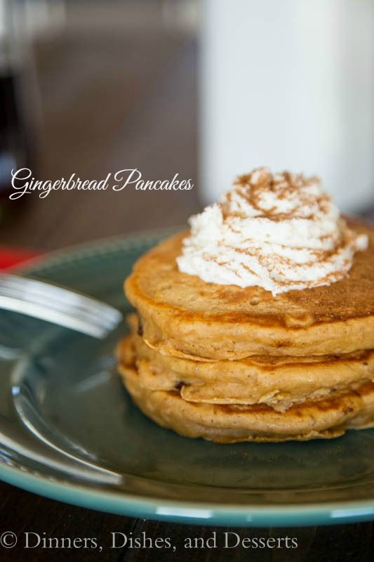 Gingerbread Pancakes and $500 Amazon Giveaway