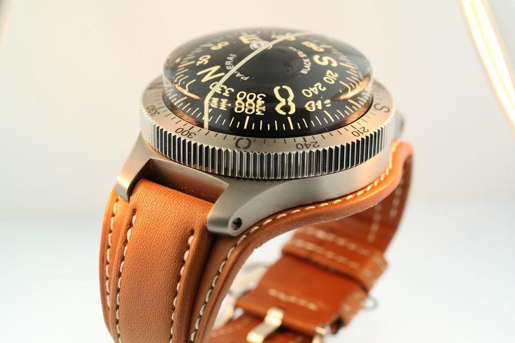 Panerai Compass Black Seal - Pam 00191 H. Limited Edition.