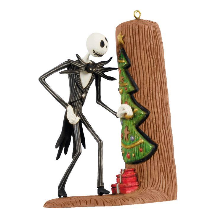Jack Skellington Christmas Ornament: My Jack Skellington Ornament!