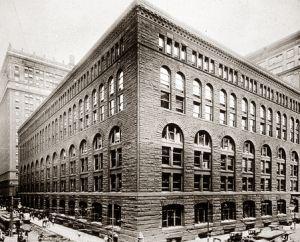 Loja de Departamentos Marshall Field & Co. 1882. Henry Hobson Richardson.