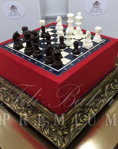Торт «Шахматы» - фото Fili Baker Premium