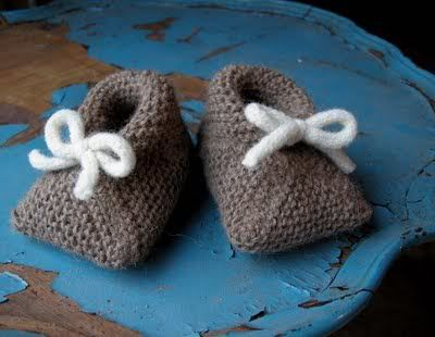 baby booties knitting patterns free | ... knit baby booties double knitting susan b anderson details the baby