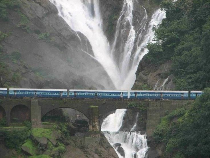 Dudhsagar Water falls