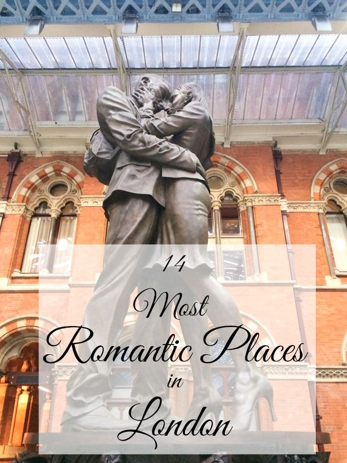 The 14 most romantic places in London! These are the city's best kept secrets for lovers.