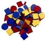 """"""" Blocos Lógicos """" Atividades  Material : um jogo de blocos lógicos contém 48 peças divididas em três cores (amarelo, azul e vermelho), quat..."""