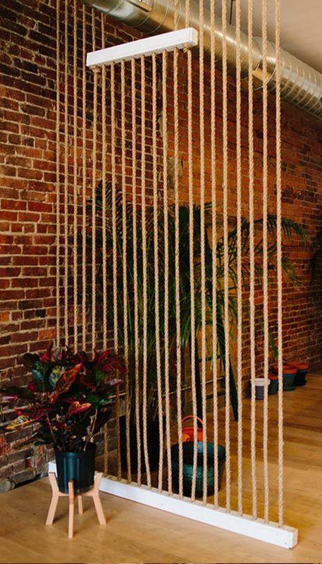 rope room divider