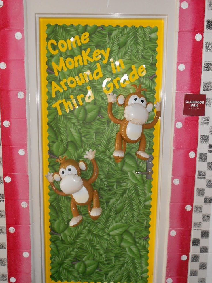 Monkey Classroom Decor ~ Best images about jungle monkey theme on pinterest