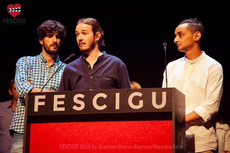 Jacinto Bobo, Jesús Noa y Said Chaitby. Requetecortos. Fecha: 03/10/2015. Foto: Mariam Useros Barrero/Mausba Foto.