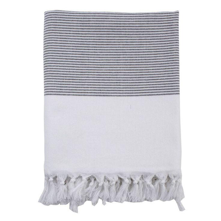 ++ Nine Space Ayrika Black Lapiz Fouta Towel