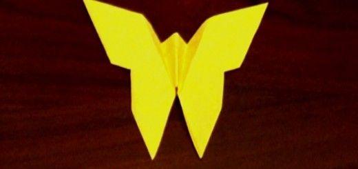 Origami-perhonen