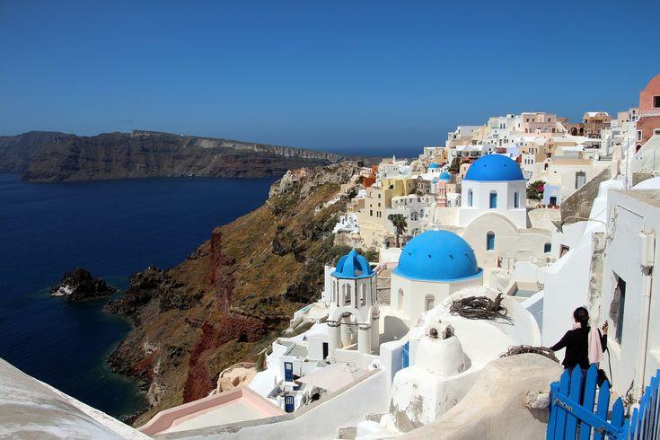 #Greece #Santorini #eSKY.com.tr