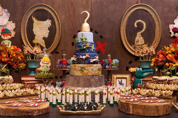 Festa infantil: tema Peter Pan