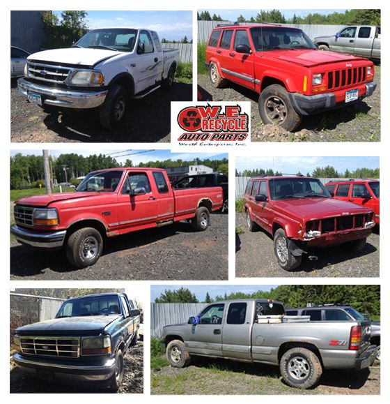 NEW INVENTORY: 1997 Ford F150 4x4 - 1999 Jeep Cherokee Sport 4x4 - 1992 Ford F150 4x4 - 1999 Jeep Cherokee 4x4 - 1996 Ford F150 - 1999 Chevy Silverado Z71