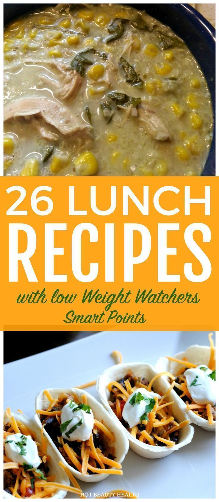 The Best Weight Watchers Lunches With Smart Points – Healthy Recipes