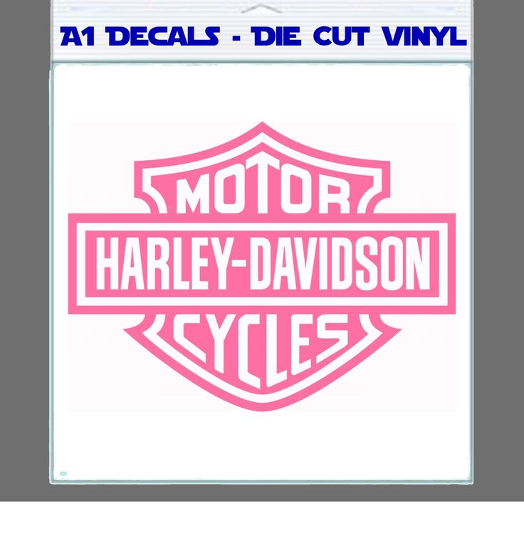 Pink Harley Davidson Harley Davidson Decal Sticker A Decals - Stickers for motorcycles harley davidsonsharley davidson decalharley davidson custom decal stickers