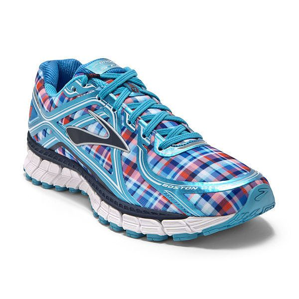 The Nantucket shoe ($130) from Brooks is a special editon of its popular Adrenaline GTS 16 running shoe. Representing all things New England, the plaid shoe is decorated with images of a whale, lobster, and anchor.