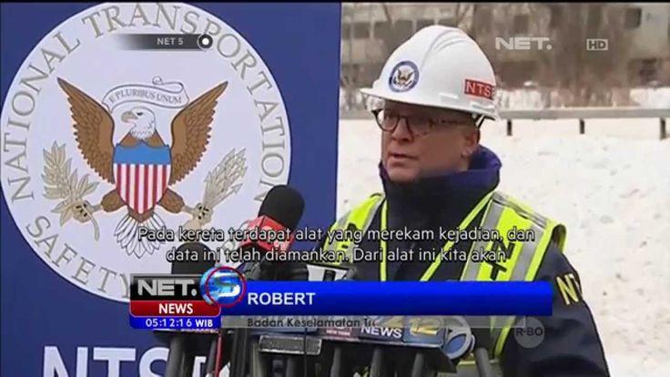 Enam Orang Tewas dalam Kecelakaan Kereta Api di New York