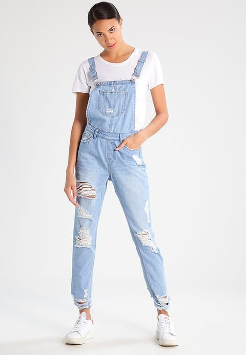 Missguided Dungarees - mid blue for £45.99 (27/05/17) with free delivery at Zalando