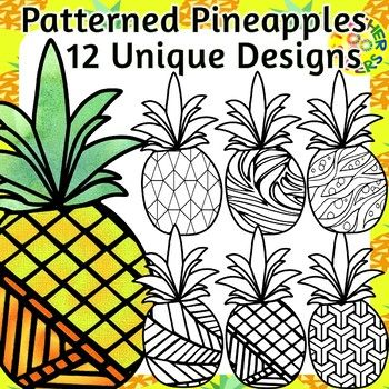 Breezy island tropics and pineapple heaven, just in time for the trendy pineapple classroom decor theme. Great for back to school. Awesome for coloring, decorating, mindfulness, self-regulation, alphabet, numbers, name creations could even be overlayed by incorporating a shape on top in your
