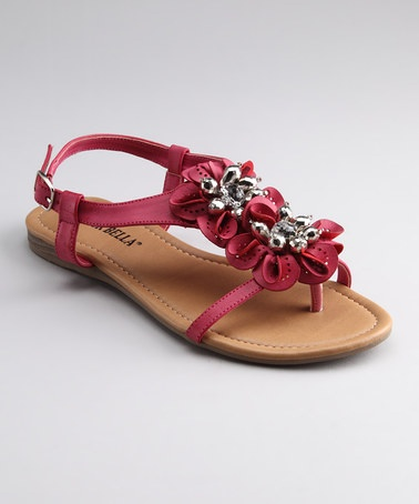 Take a look at this Fuchsia Rosa 2 Sandal by RCK Bella on #zulily today!