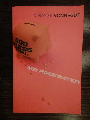 God Bless You, Mr Rosewater by Kurt Vonnegut. Click link for review: http://imranlorgat.com/2014/05/17/god-bless-you-mr-rosewater-by-kurt-vonnegut-book-thoughts/