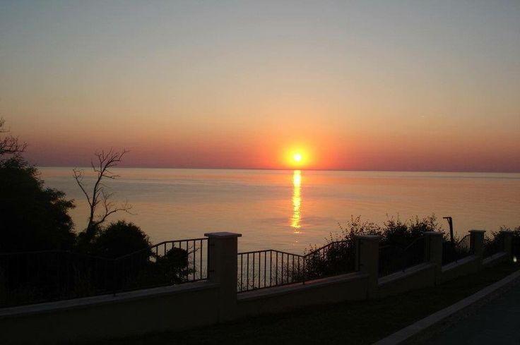 Sunrise in Byala Beach, Bulgaria